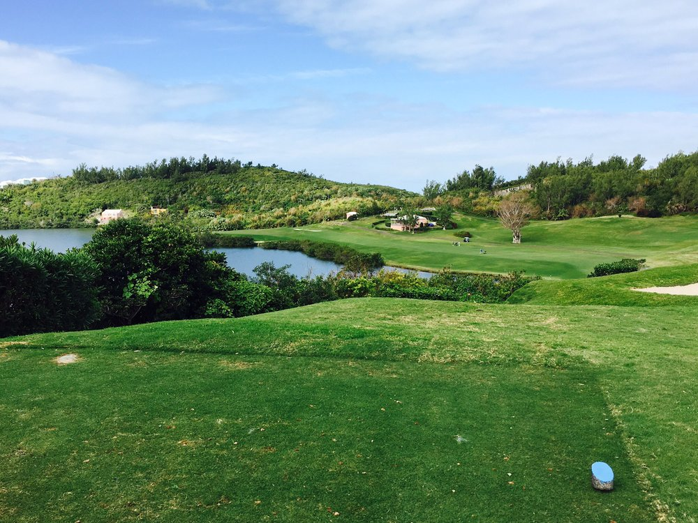 Possibly the best cape hole, the 5th at The Mid Ocean Club. Photo Credit:  Spencer Waresk