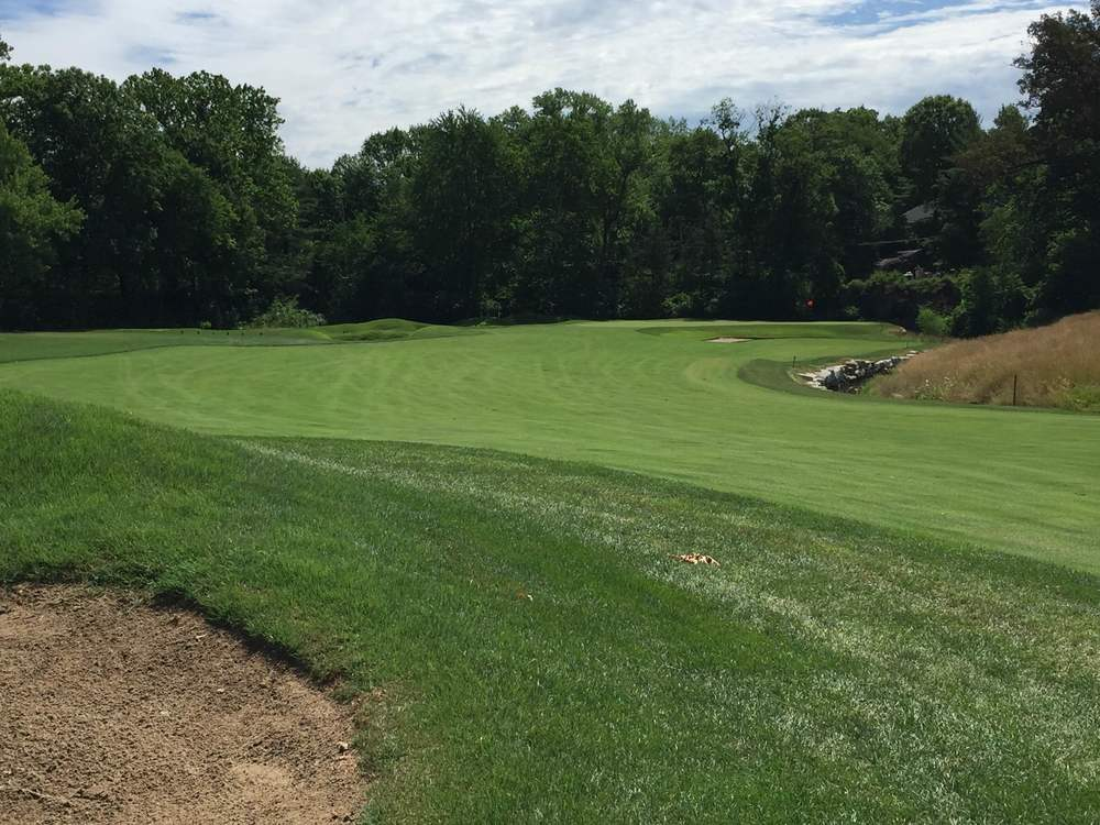 The approach at the 8th at St. Louis C.C. Photo Credit:  Kyle Truax