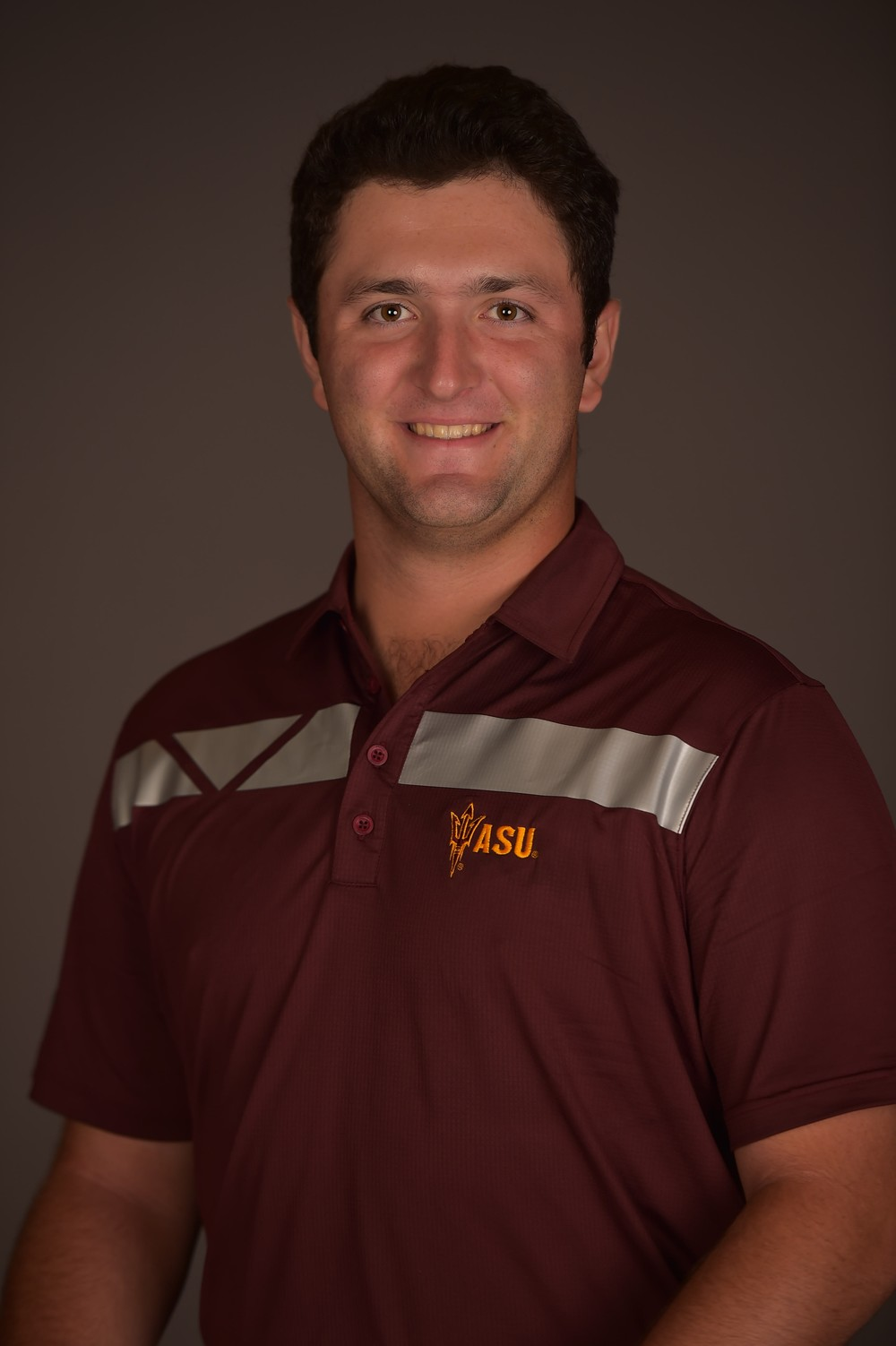 Jon Rahm during his college years.
