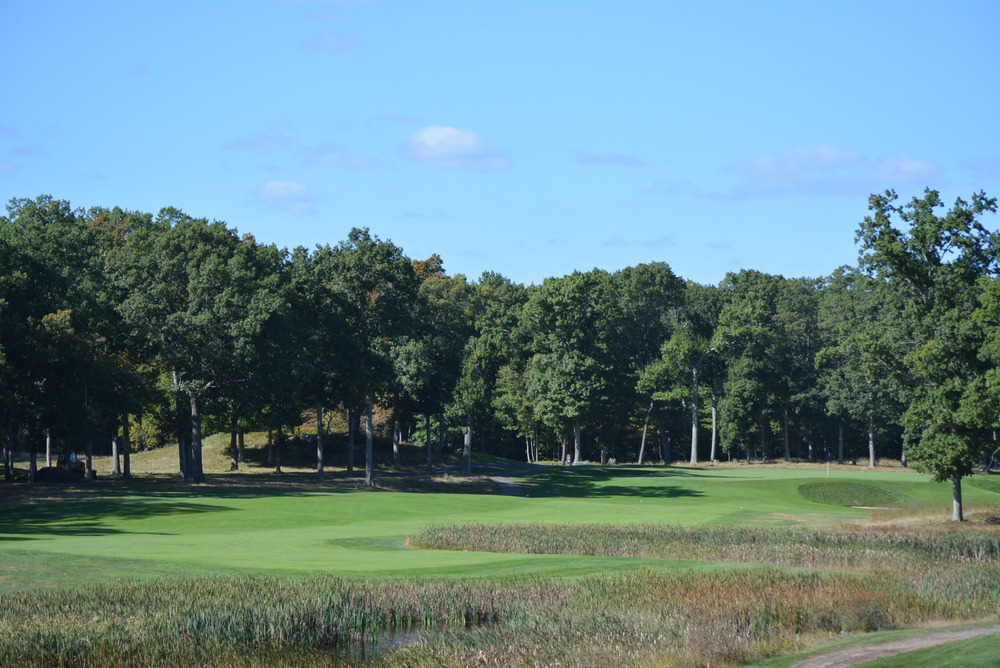 The 4th hole at The Yale Course. Photo Credit: Holderness & Bourne