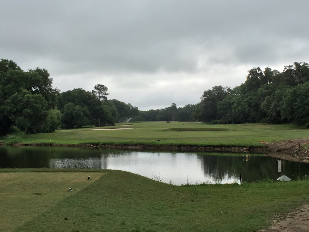 The par 4 7th at Yeamans Hall Club Photo Credit: An Ambulent Golfer