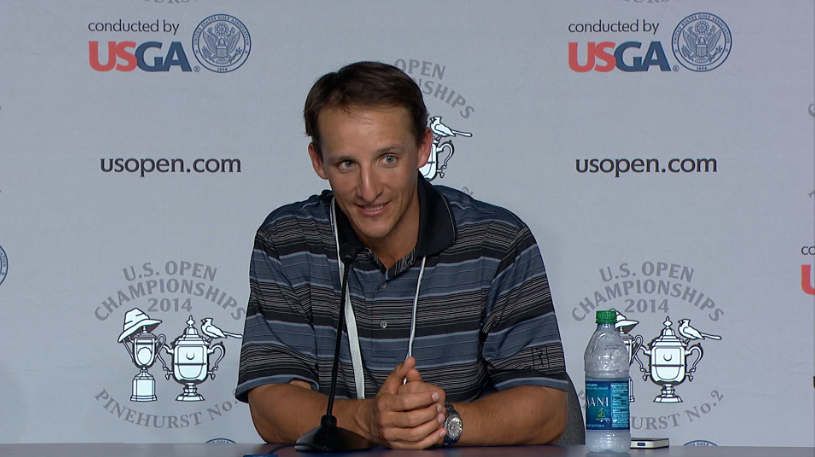 Gossett at the 2014 U.S. Open.