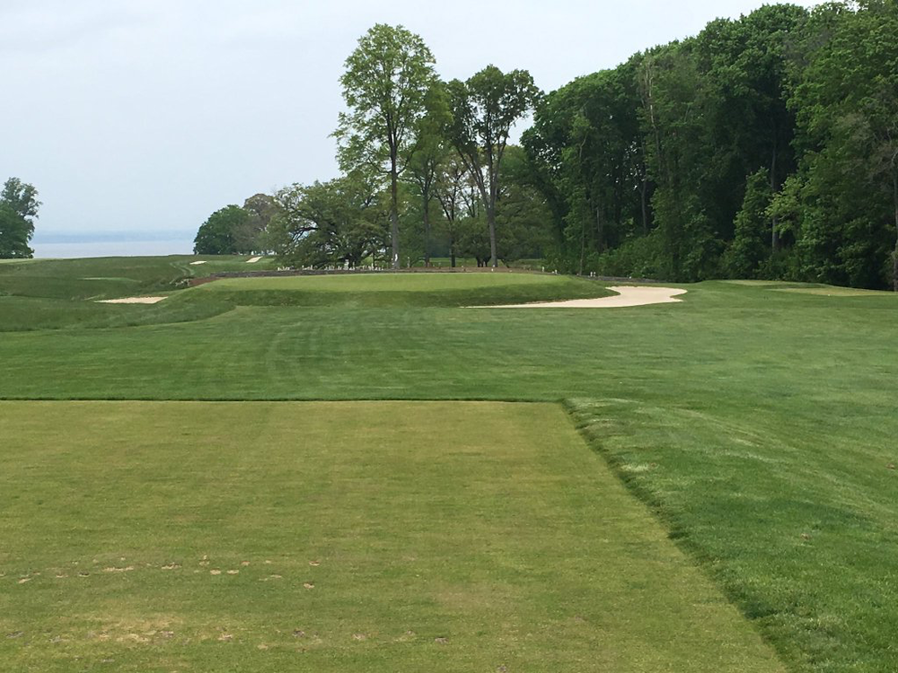 The short 17th at the historic Macdonald design The Creek Club. Photo Credit: An Ambulent Golfer