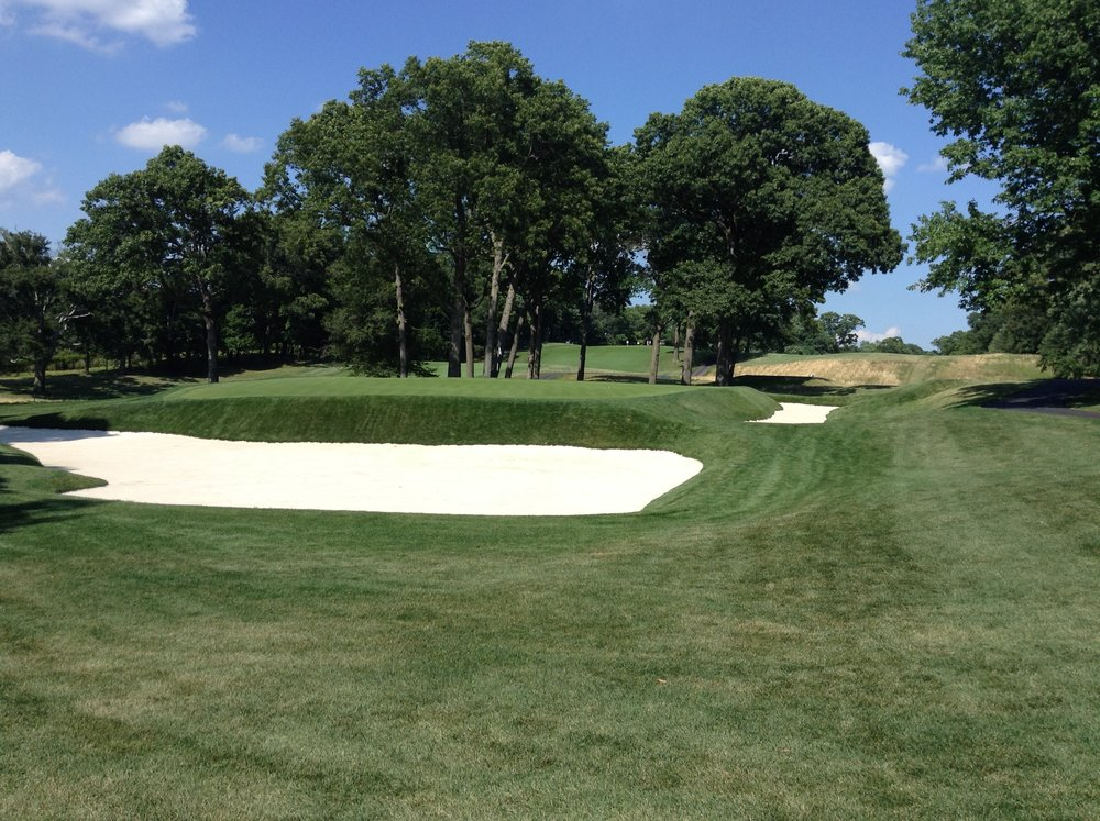A closer look at the well guarded 3rd at Morris County. Photo Credit:  Spencer Waresk