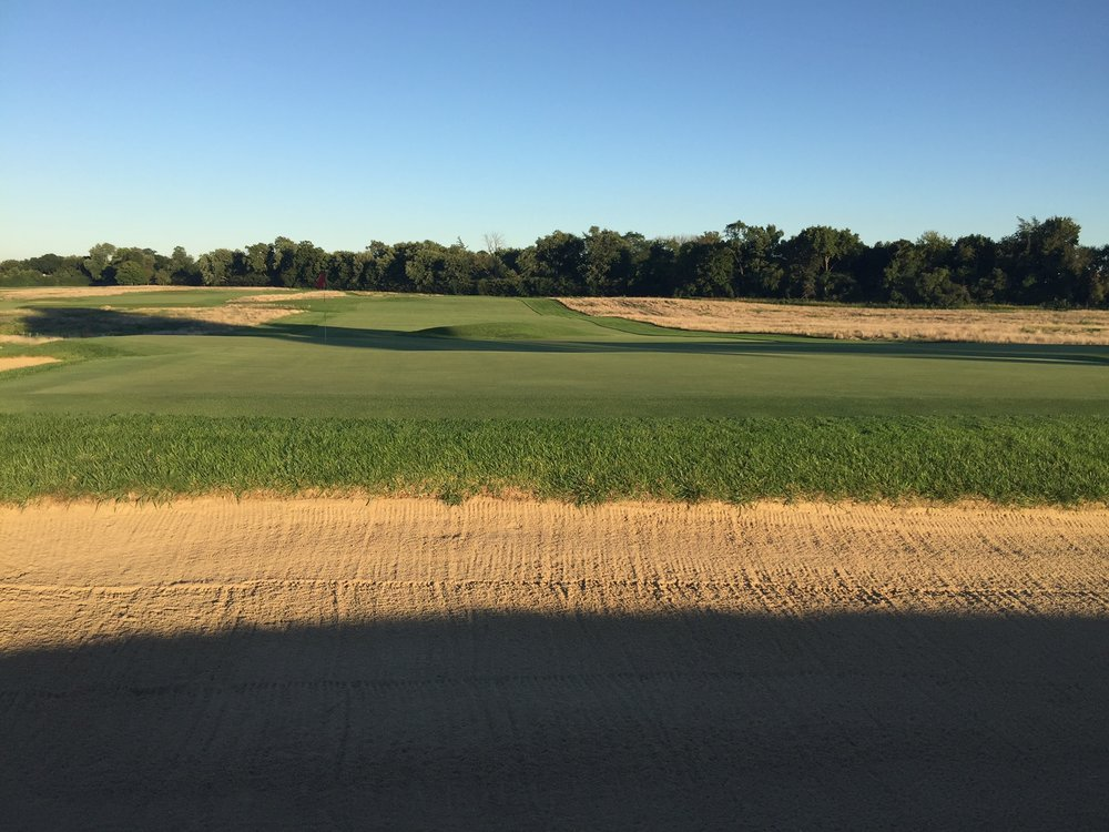 Behind the 6th green at Chicago Golf Club. Photo Credit: Chicago Golf Club