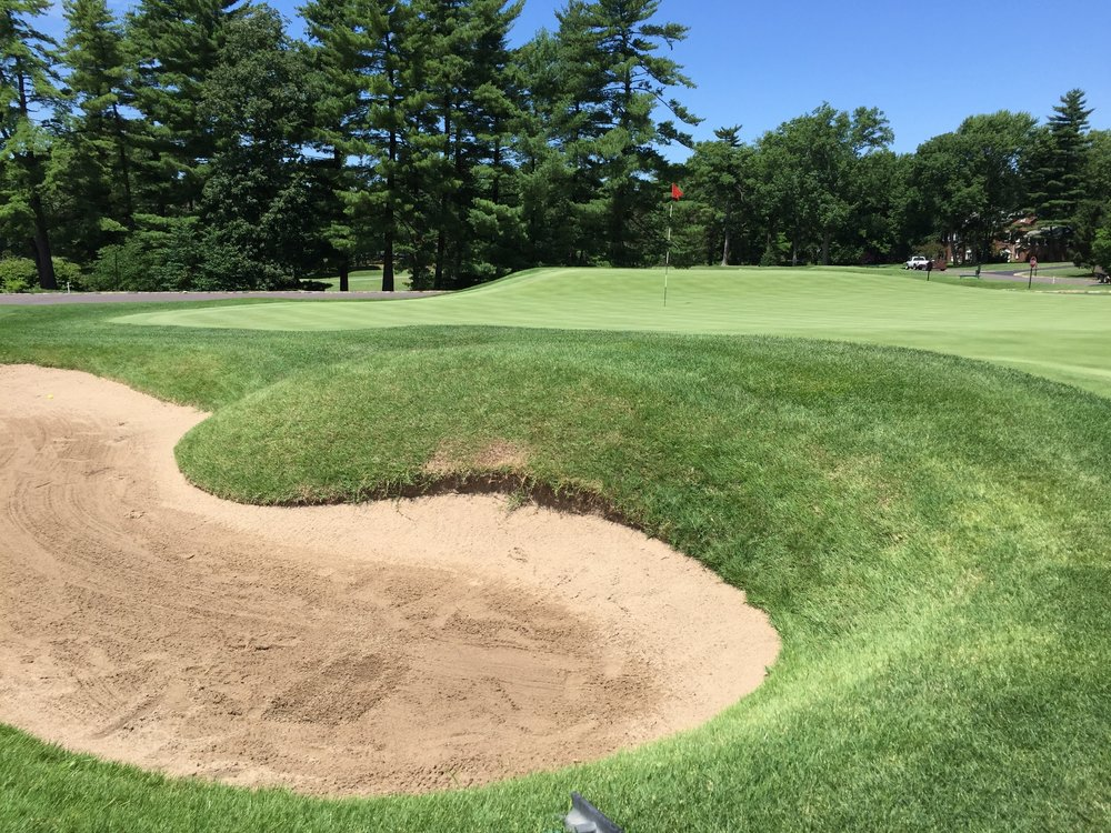 The principal's nose bunker at the 15th at St. Louis Country Club.Photo Credit: Kyle Truax @TheTruArchitect