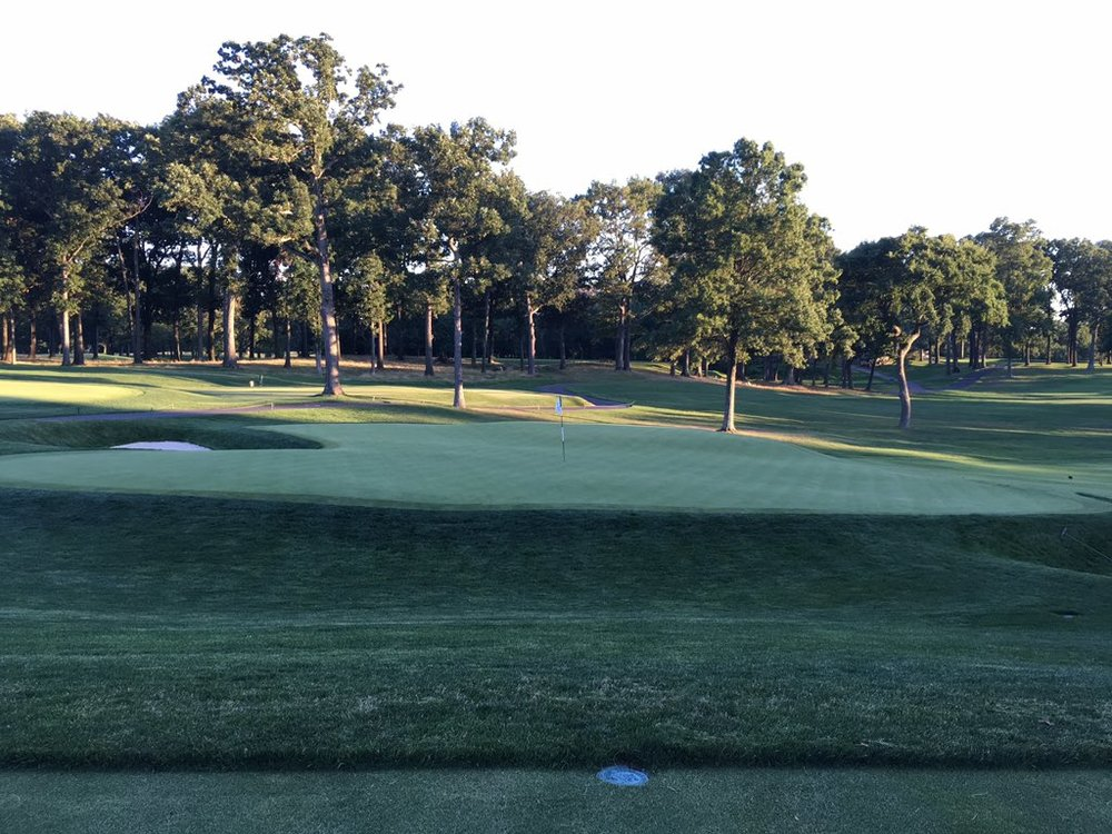 The 4th green at Morris County Golf Club. Photo Credit:  Spencer Waresk