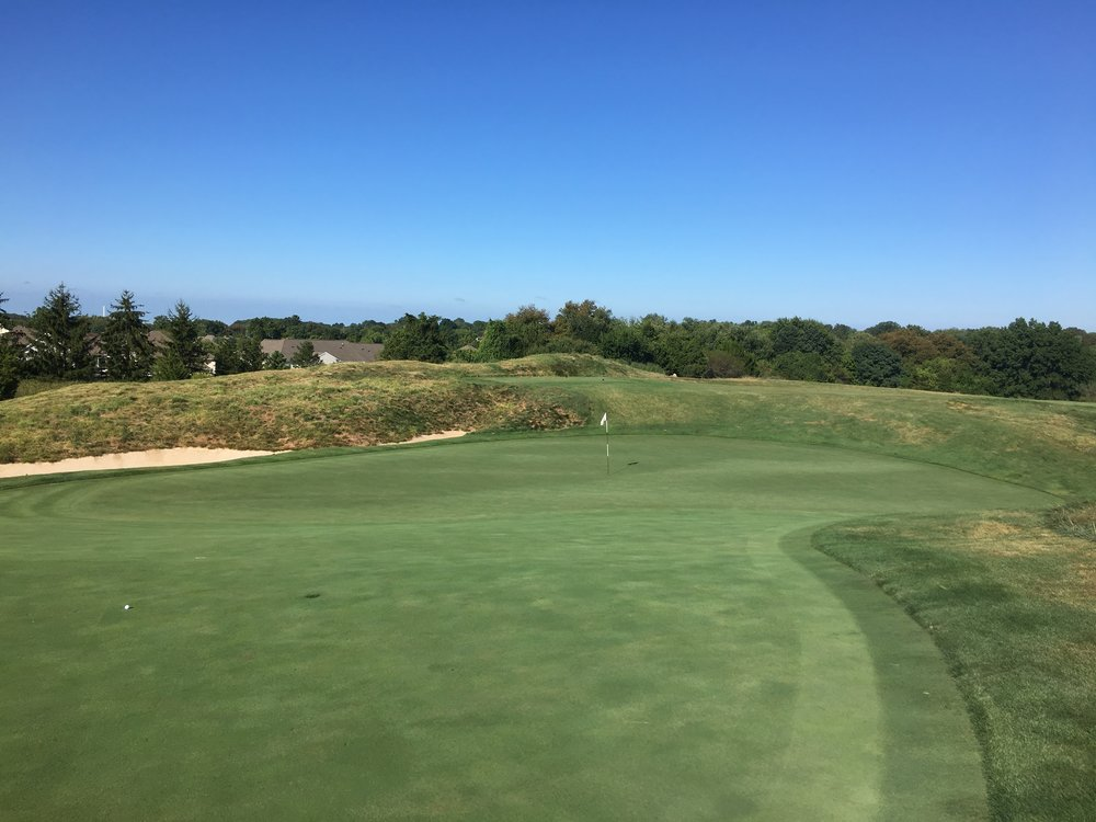 The front of the punchbowl 3rd at Applebrook