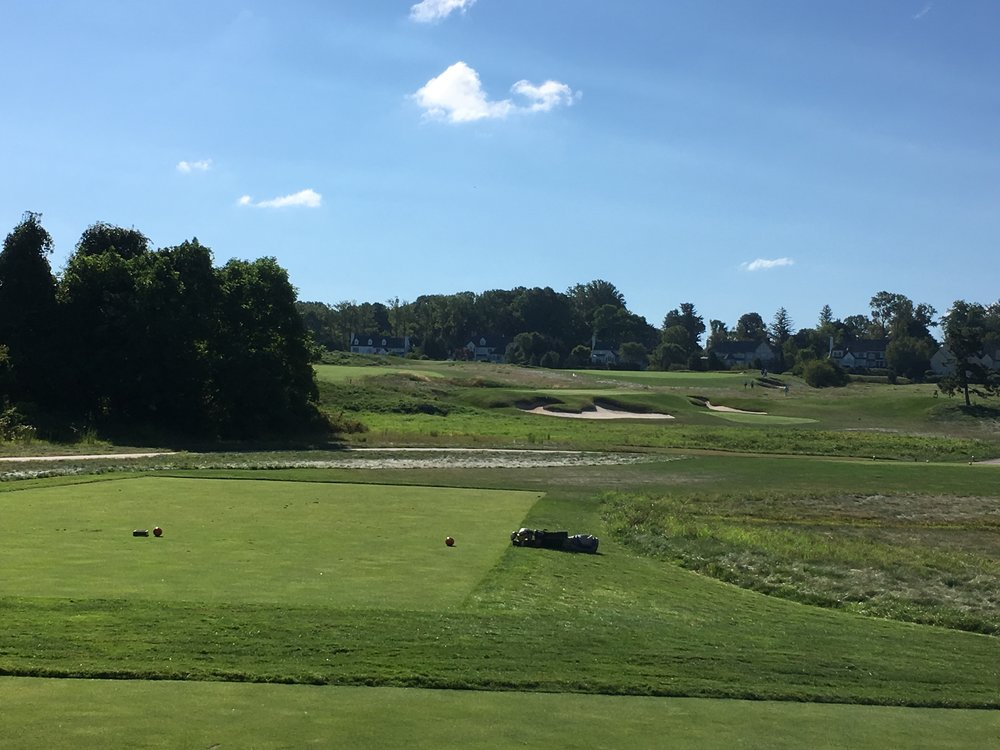 The challenging par 3 5th.