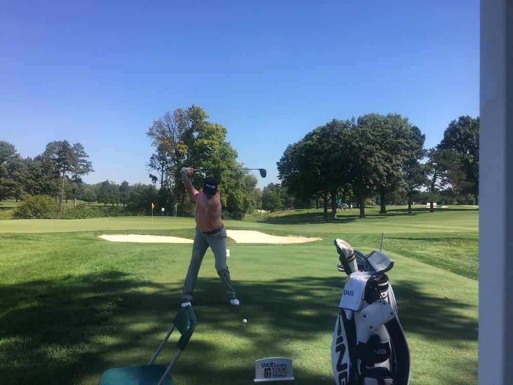 PGA Tour rookie Trey Mullinax