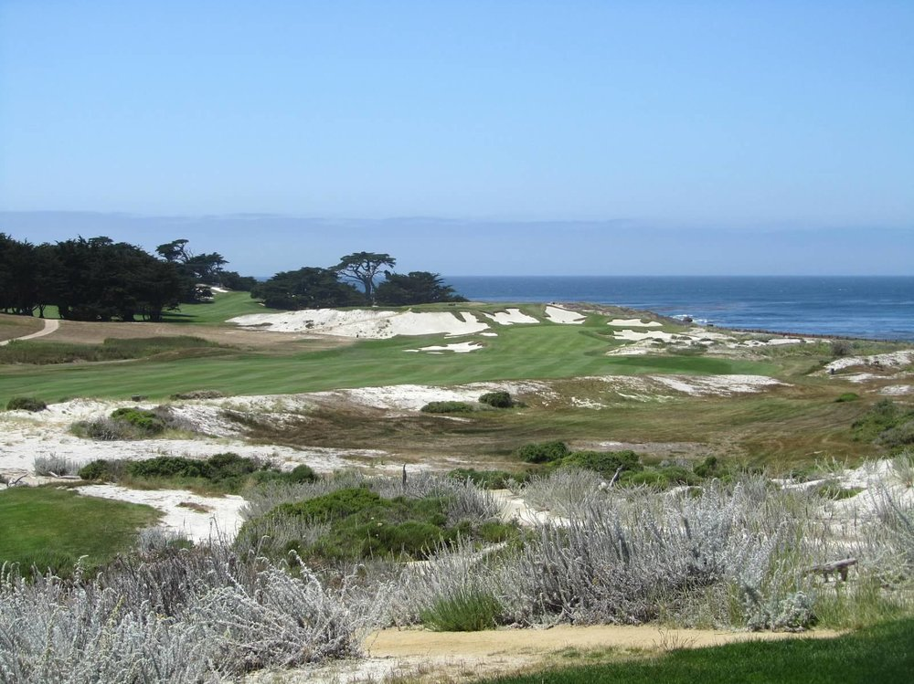 The 13th hole at Cypress Point