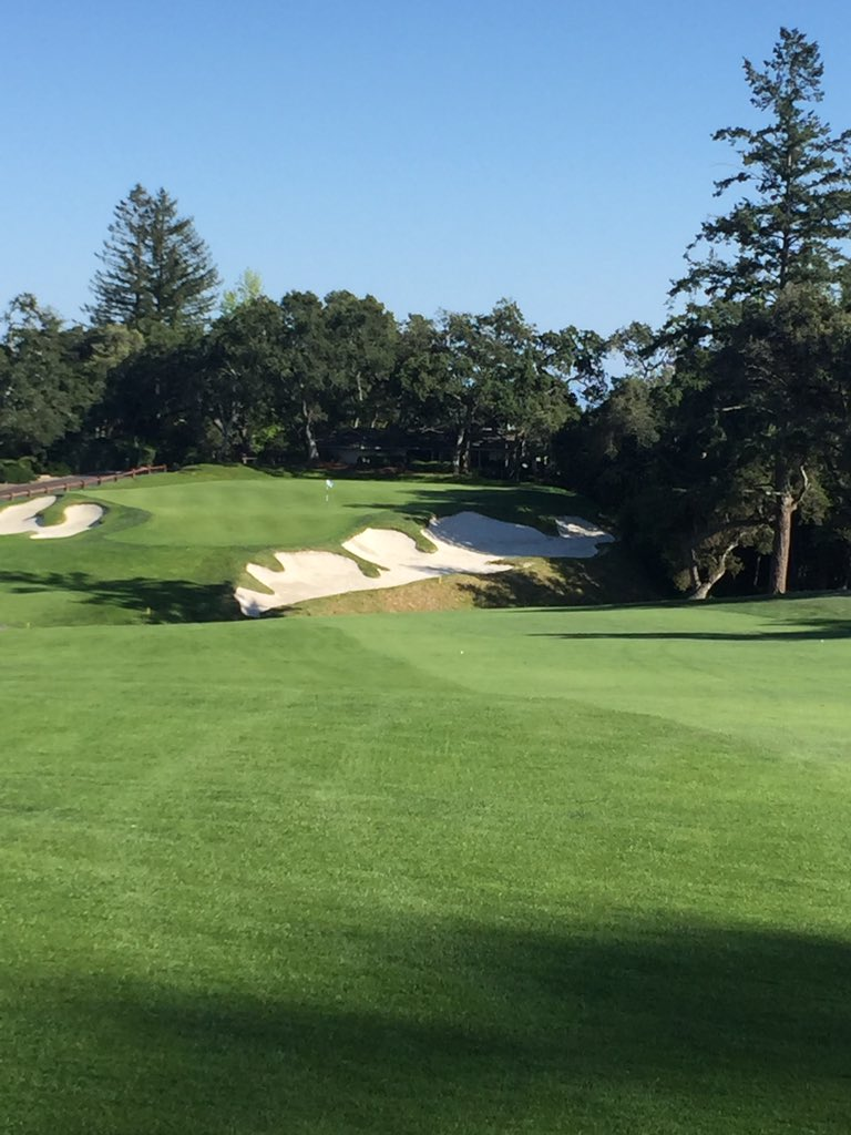 Pasatiempo's 16th green