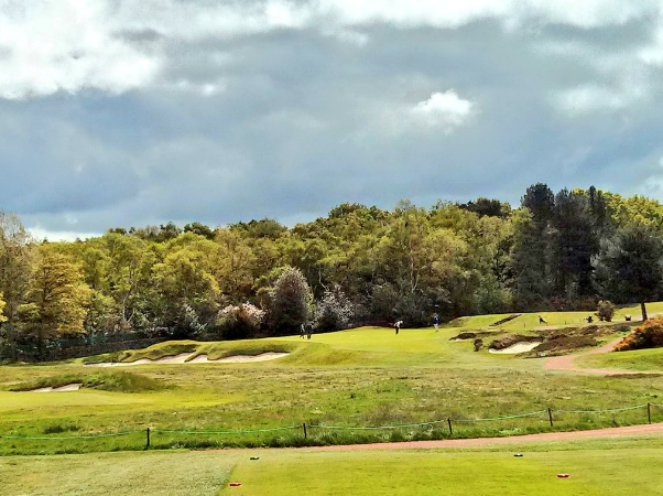 "MacKenzie's famous ""Gibraltar Hole"" at Moortown Golf Club Photo Credit: Simon Haines @Hainesy76"