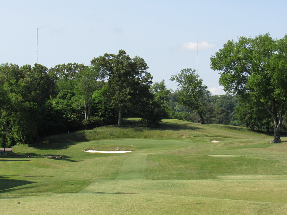 The redan 14th at Holston Hills.