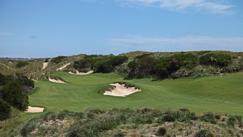 Hole #3 at Barnbougle Lost Farm