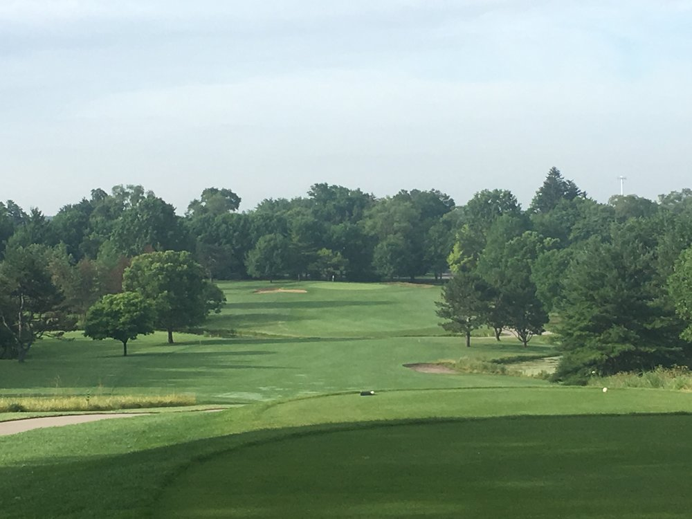 The 2nd hole at Downers Grove Golf Club
