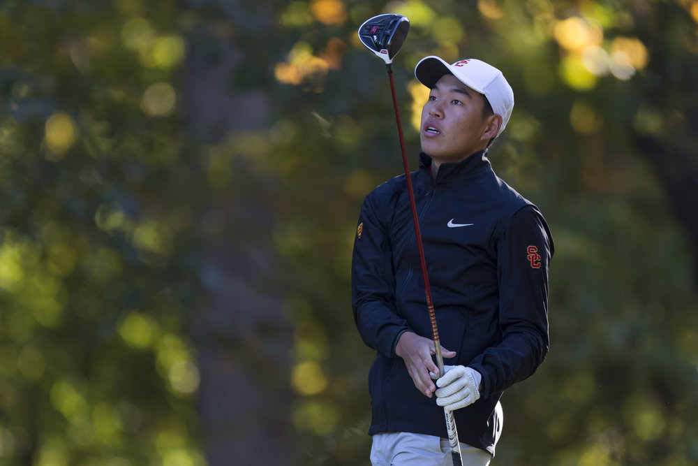 Freshman and former Asian-Pacific Amateur Champion Cheng Jin