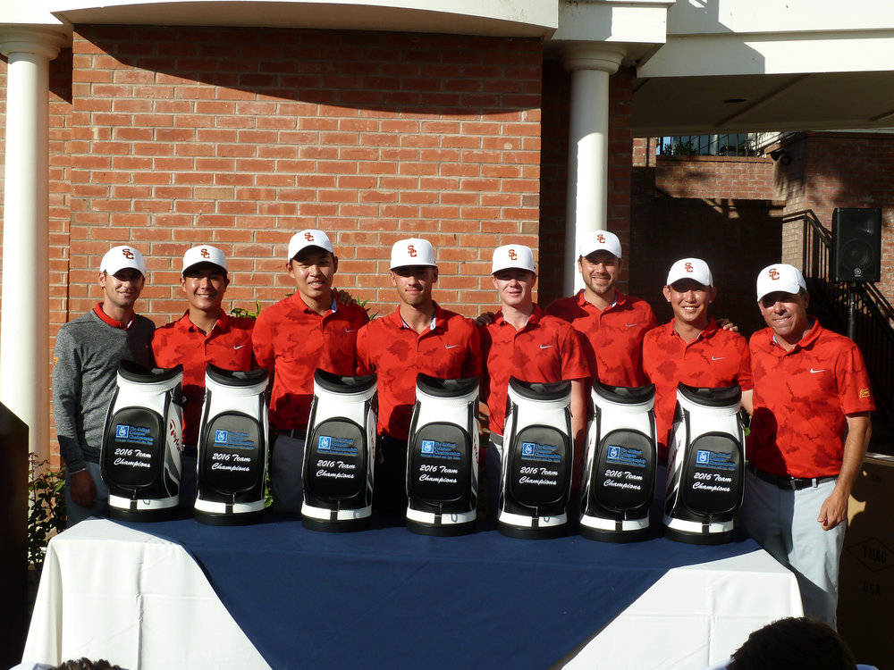 USC after their fall win at the Gifford Collegiate.