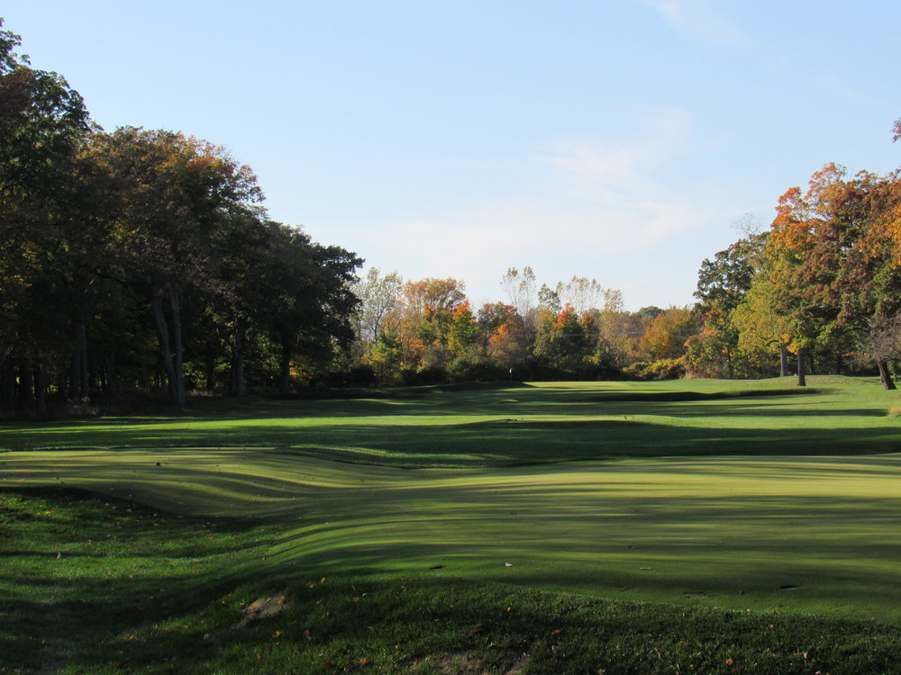 "The third hole ""leven"" at Shoreacres"