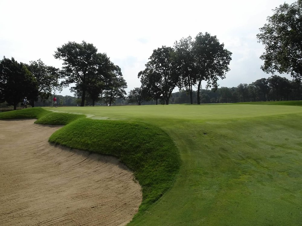"A look from left of the ""hill"" bunker."