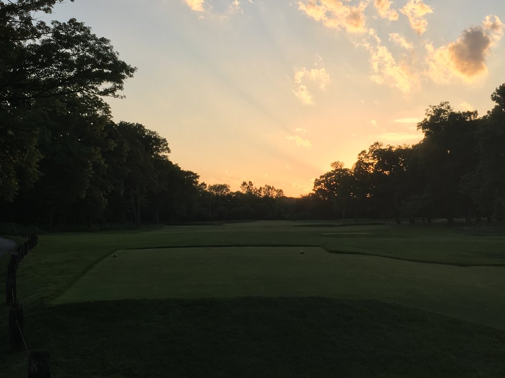The 3rd at sunset