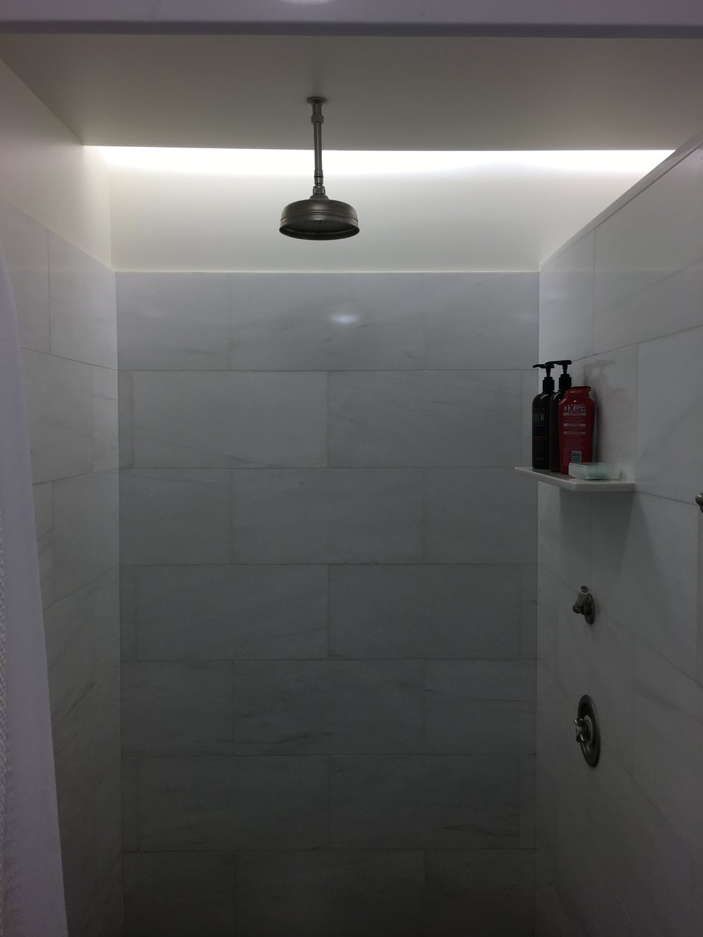 The epic showers at Shoreacres