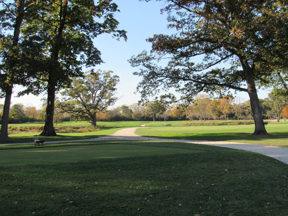 A look at one of the many open vistas at Shoreacres