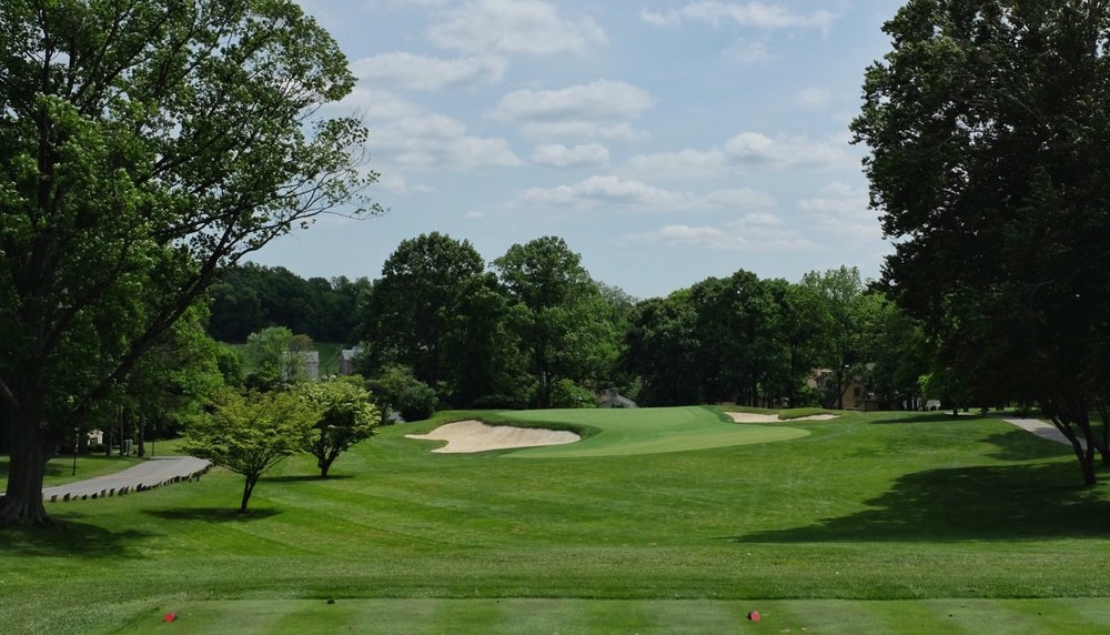 The par 3 3rd at Rolling Green Golf Club. Photo Credit:  @linksgems