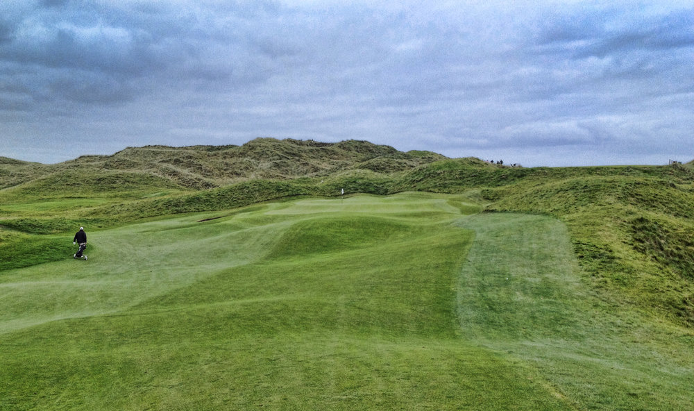 The 13th at Lahinch Golf Club Photo Credit: Riley Johns