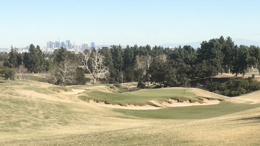 The famed 11th hole at LACC's North Course