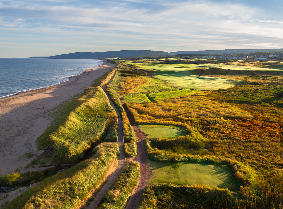 The 8th hole at Cabot Links Photo Credit: Evan Schiller
