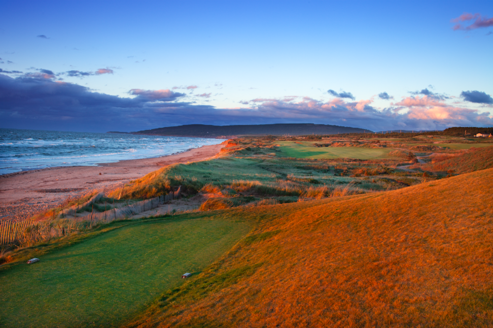 The 15th at Cabot Links. Photo Credit: David Scaletti