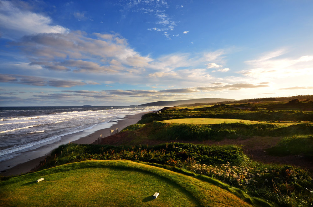 The 16th at Cabot Links.