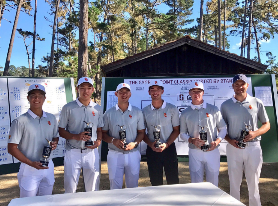 USC after winning at Cypress Point.