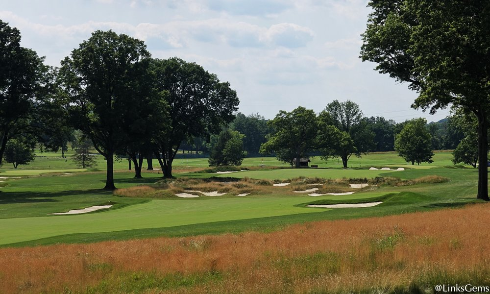 A look at the 7th from right of the fairway. Photo Credit: Jon Cavalier  @linksgems