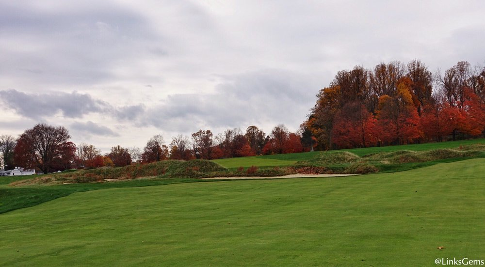 A look at Somerset's GH from the fairway. Photo Credit: Jon Cavalier  @linksgems