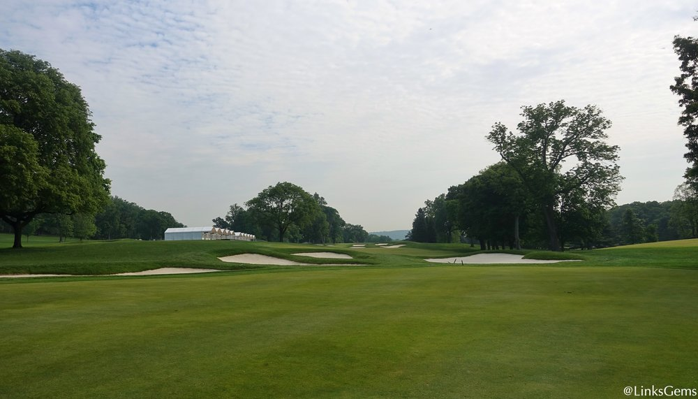 The 17th at Baltusrol's Lower Course Photo Credit: Jon Cavalier  @linksgems