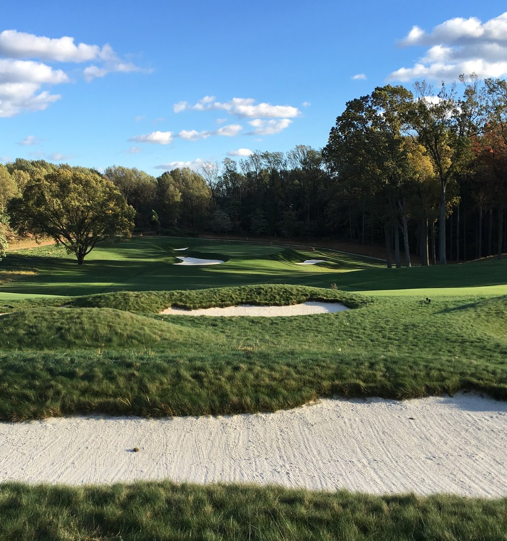 The 14th at Baltimore C.C.'s Five Farms East Course. Photo Credit: Tyler Petrovich  @thetravelinggolfer