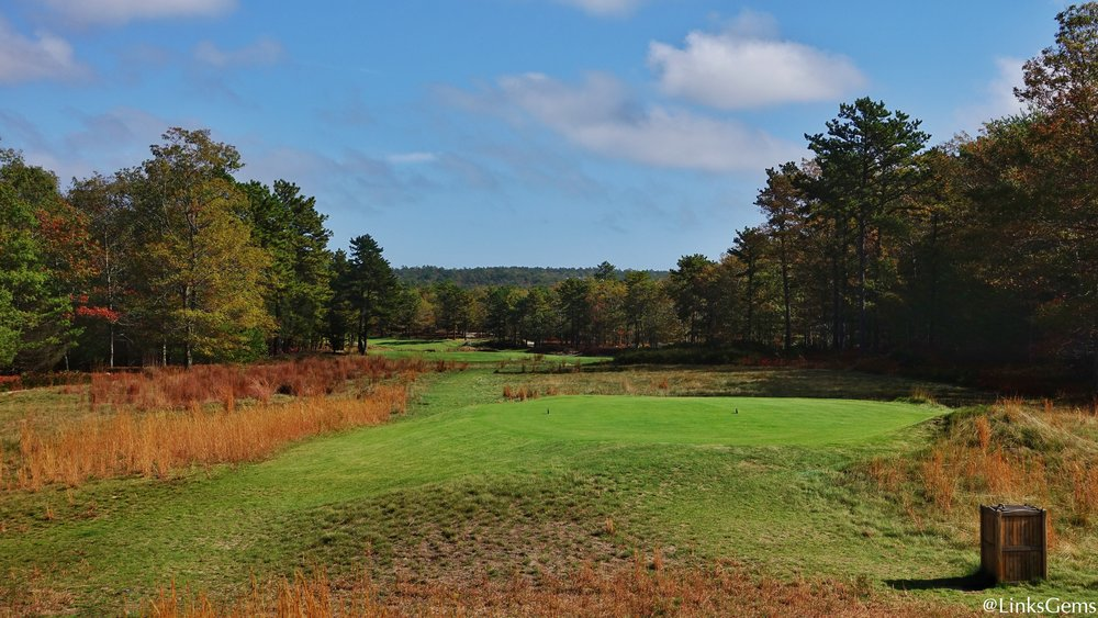 Old Sandwich's 10th tee shot. Photo Credit: Jon Cavalier  @linksgems