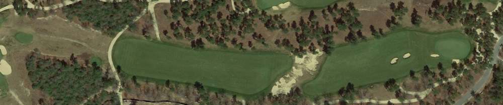 The 10th at Old Sandwich from Google Earth.