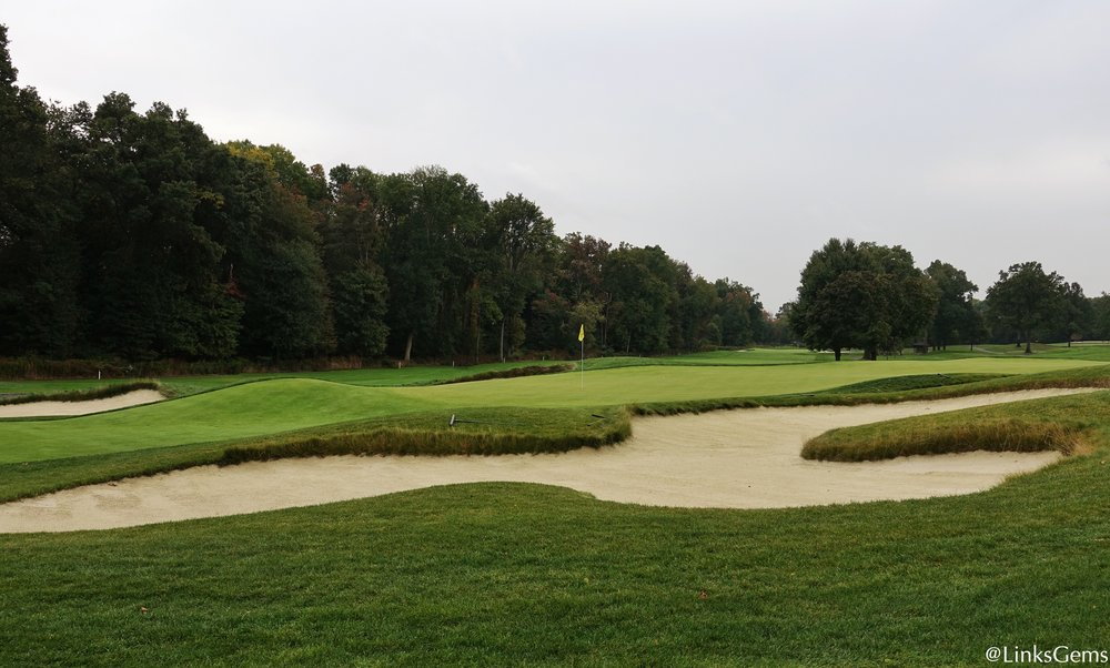 The 3rd green at Ridgewood. Photo Credit: Jon Cavalier  @linksgems