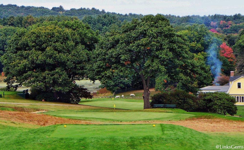 Myopia Hunt Club is unranked by Golf Digest.