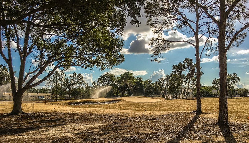 Hole 6 at Keith's Winter Park GC in Orlando, Fl