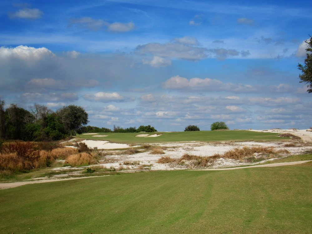 Streamsong Red's 11th tee shot