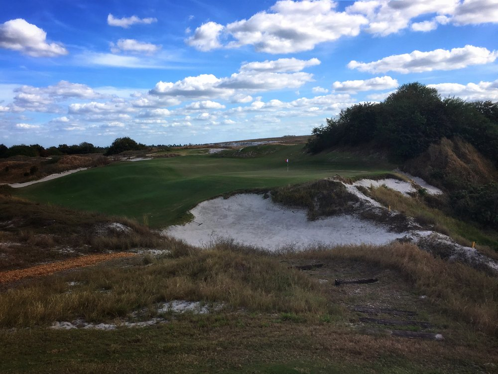 Streamsong Red's biarritz 16th