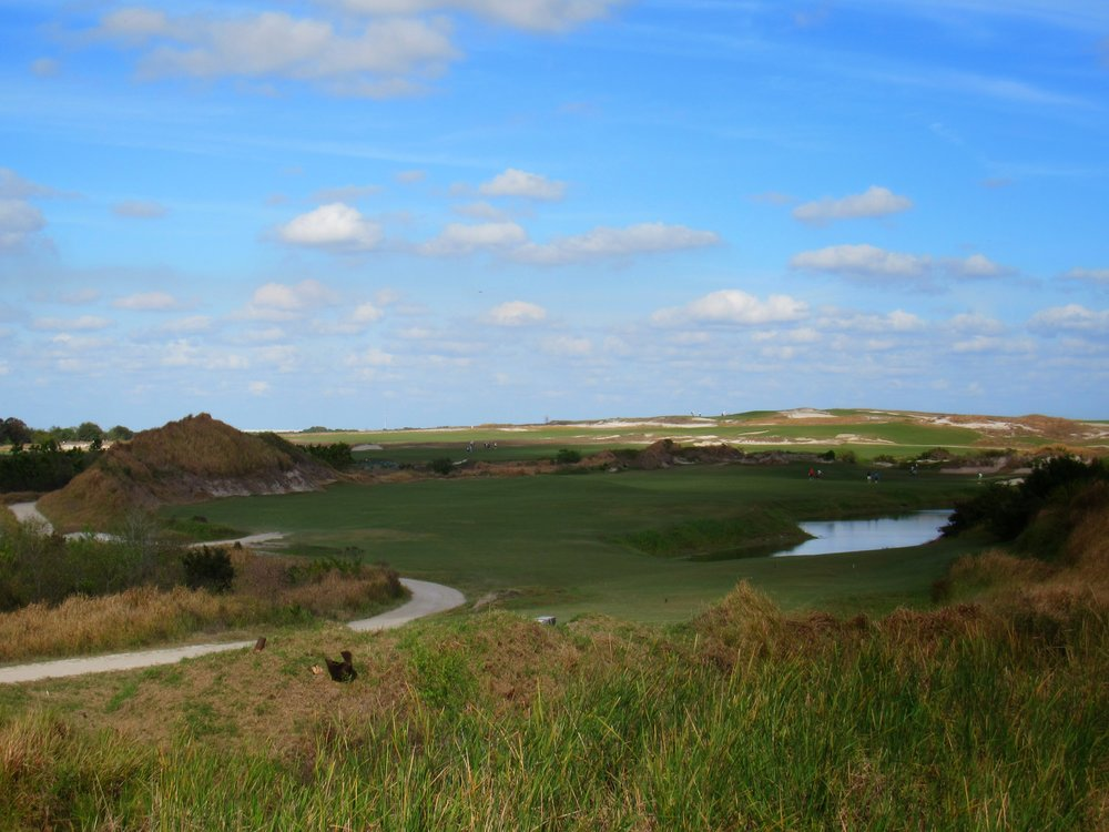 Streamsong Red's 5th tee shot