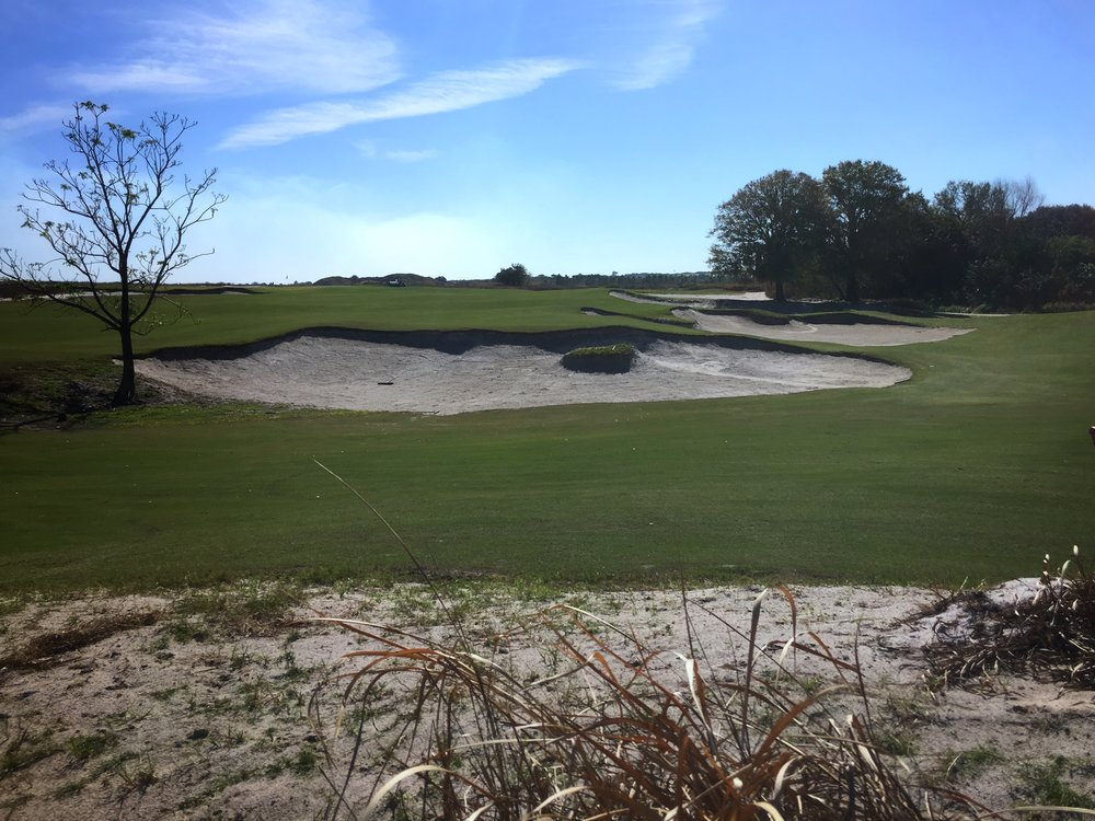 Streamsong Blue's 17th green