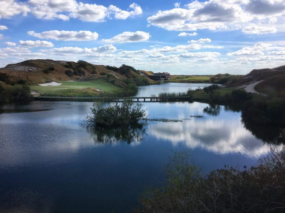 Streamsong Blue's 7th