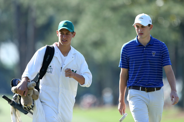Patrick Cantlay at the 2012 Masters.