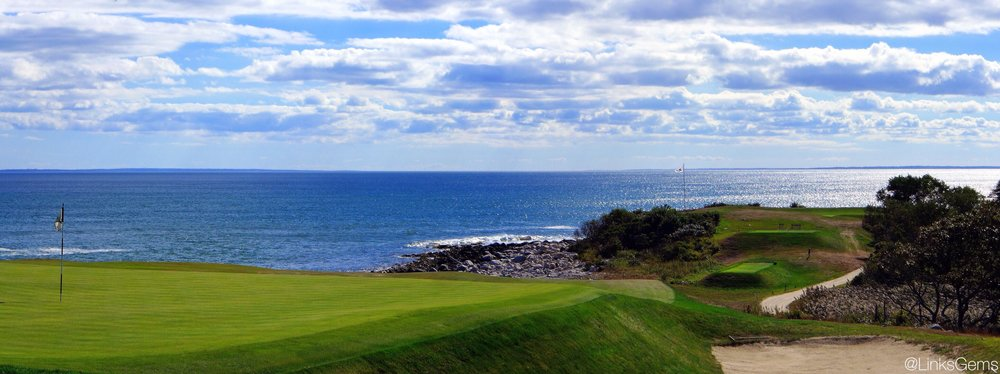 Fishers Island's 5th from the side. Photo Credit: Jon Cavalier @linksgems